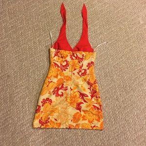 Vintage reversible halter dress